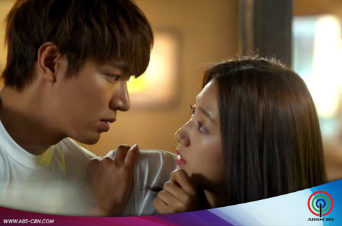 LOOK: Lee Min Ho & Park Shin Hye for The Heirs