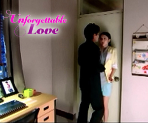 "Nina gives in to Gio in ""Unforgettable Love."""